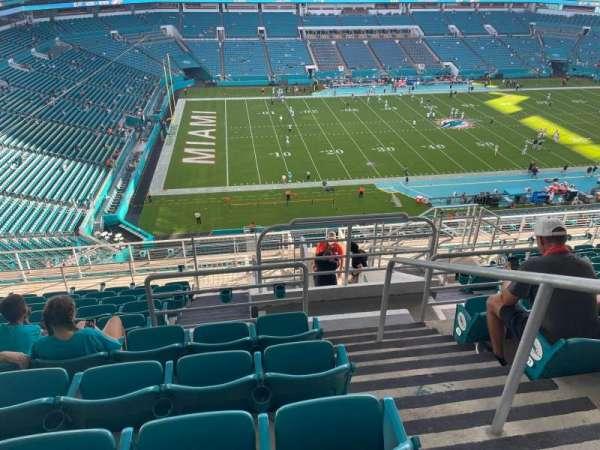 Hard Rock Stadium, sección: 322, fila: 13, asiento: 1