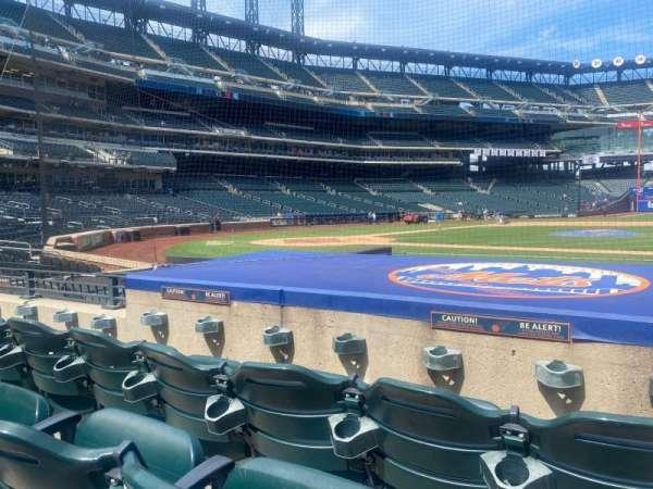 Citi Field, sección: 114, fila: 3, asiento: 15