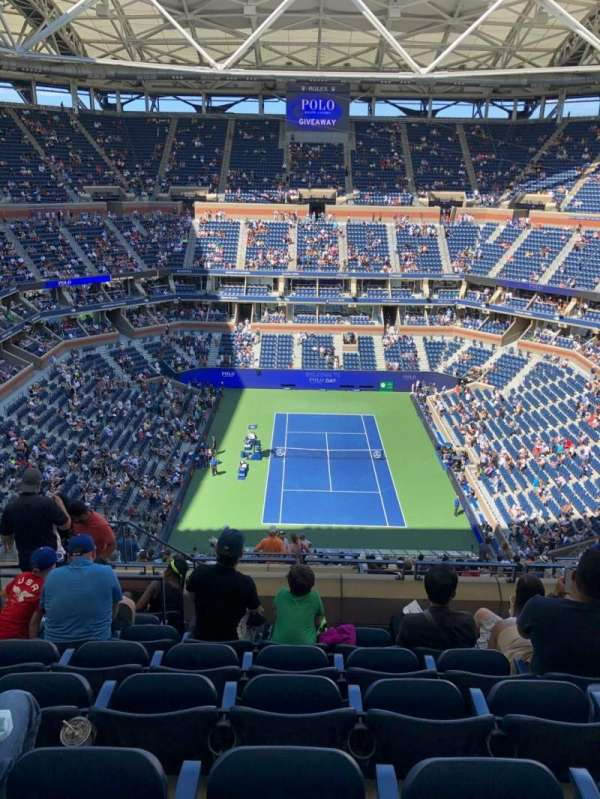 Arthur Ashe Stadium, sección: 301, fila: K, asiento: 14