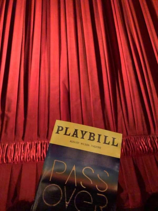 August Wilson Theatre, sección: Orchestra C, fila: AA, asiento: 107