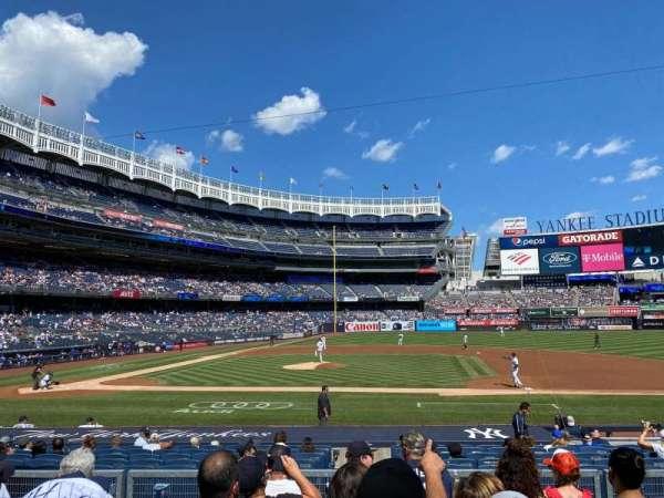 Yankee Stadium, sección: 116, fila: 6, asiento: 7