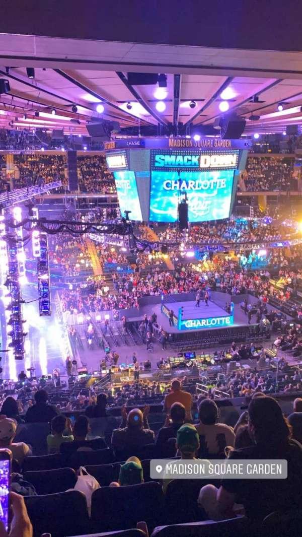 Madison Square Garden, sección: 223, fila: 10, asiento: 2