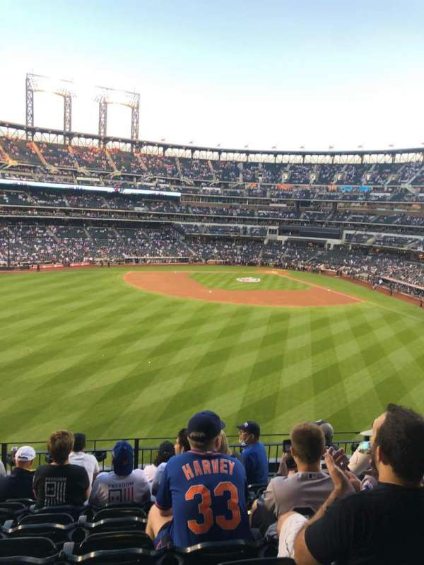 Citi Field, sección: 337, fila: 7, asiento: 27
