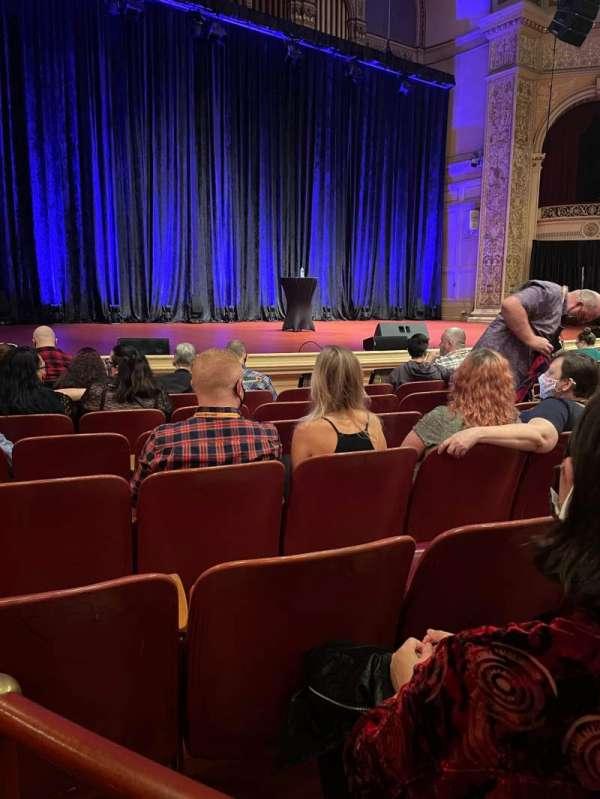 Carnegie Music Hall Of Oakland, sección: Circle 2, fila: A, asiento: 3