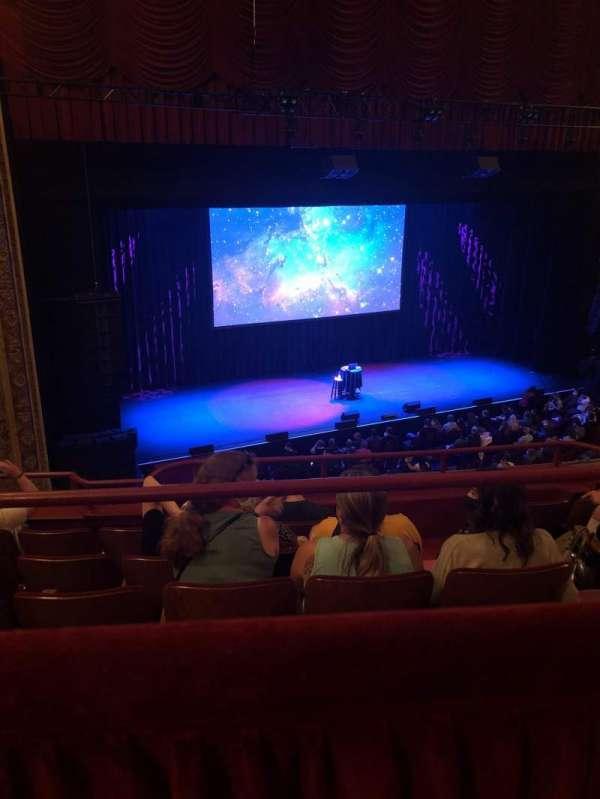 Chicago Theatre, sección: Balcony2L, fila: A, asiento: 209