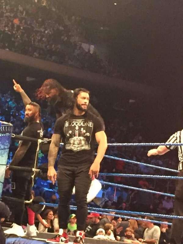 Madison Square Garden, sección: FLD, fila: 2, asiento: 1
