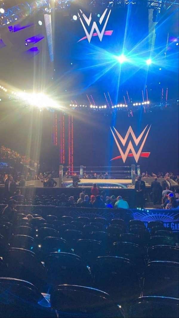 Madison Square Garden, sección: 2, fila: 9, asiento: 22