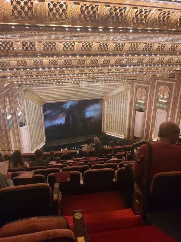 Lyric Opera House, sección: Upper Balcony, fila: k, asiento: 630
