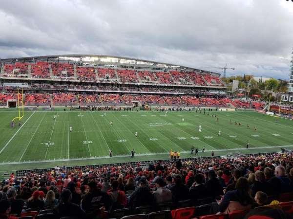 TD Place Stadium, sección: GG, fila: 10, asiento: 18