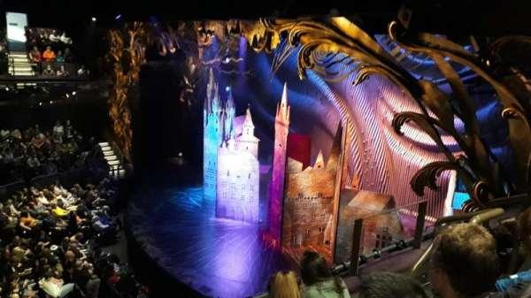 Gillian Lynne Theatre, sección: Circle, fila: C, asiento: 11