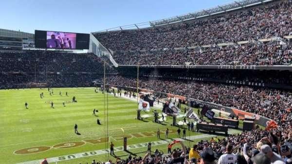 Soldier Field, sección: 253, fila: 12, asiento: 6