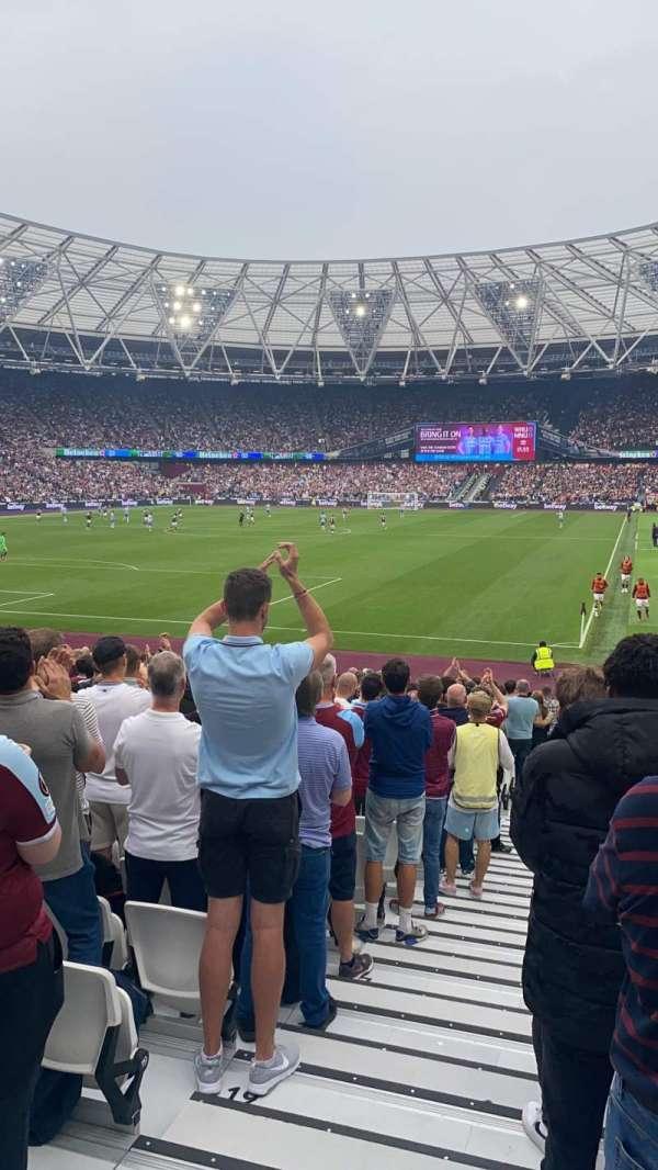 London Stadium, sección: 154, fila: 23, asiento: 500