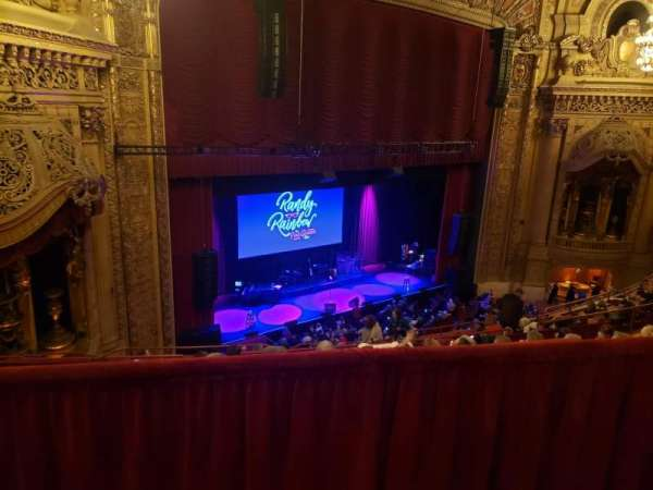 Chicago Theatre, sección: BALC1L, fila: G, asiento: 113