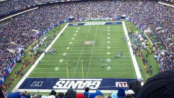MetLife Stadium, sección: 325, fila: 14, asiento: 11