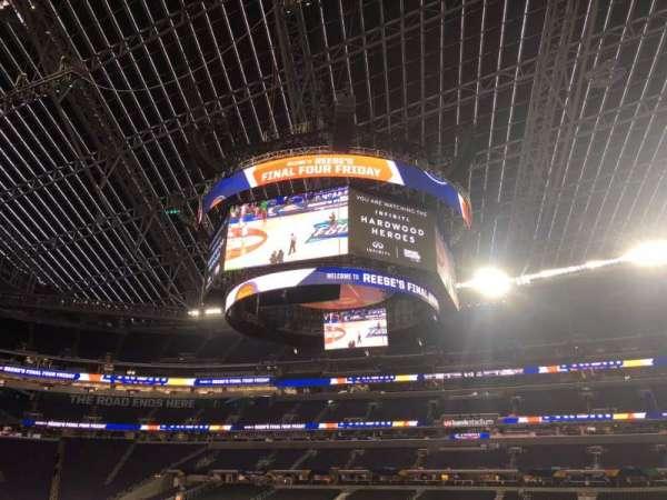 U.S. Bank Stadium, sección: V2, fila: AA, asiento: 3