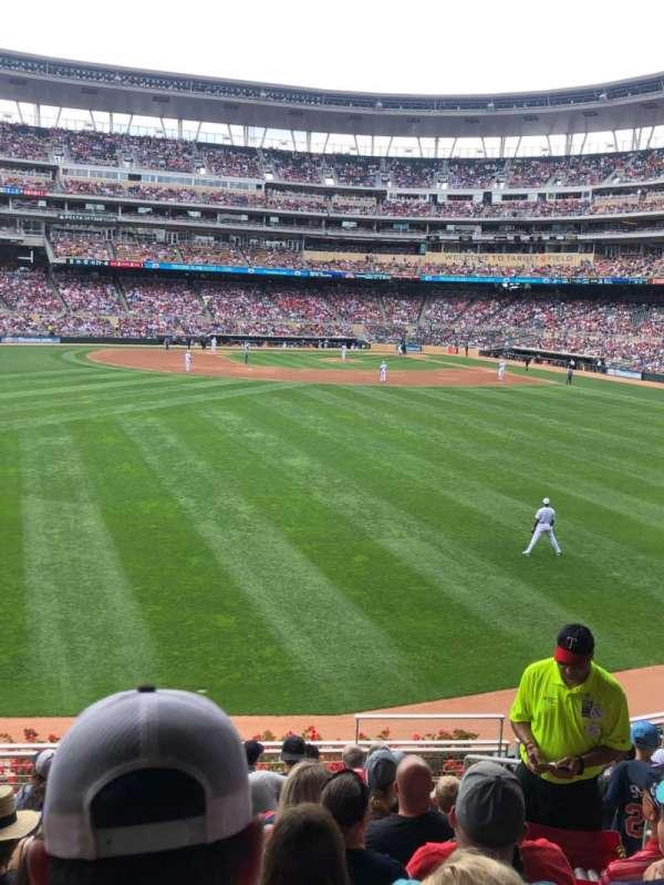 Target Field, sección: 131, fila: 10, asiento: 5