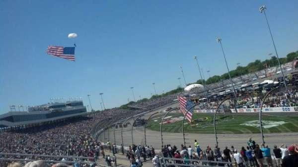 Richmond International Raceway, sección: Veranda B, fila: 6, asiento: 1