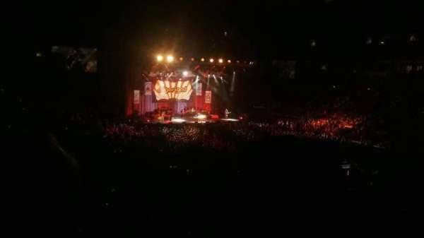 PNC Arena, sección: 130, fila: WW, asiento: 1