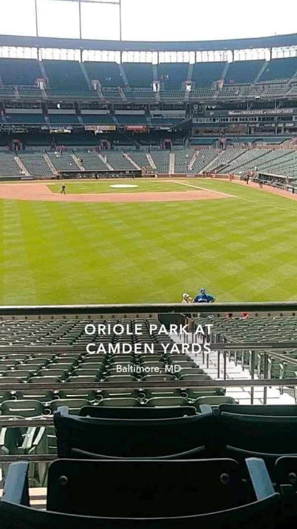 Oriole Park at Camden Yards, sección: 83, fila: 4, asiento: 15
