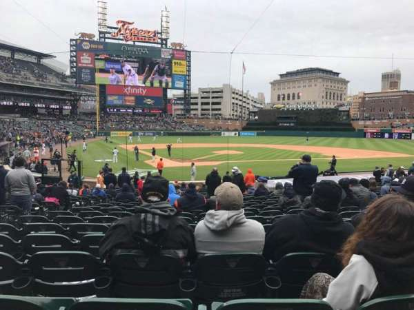 Comerica Park, sección: 126, fila: 26, asiento: 10