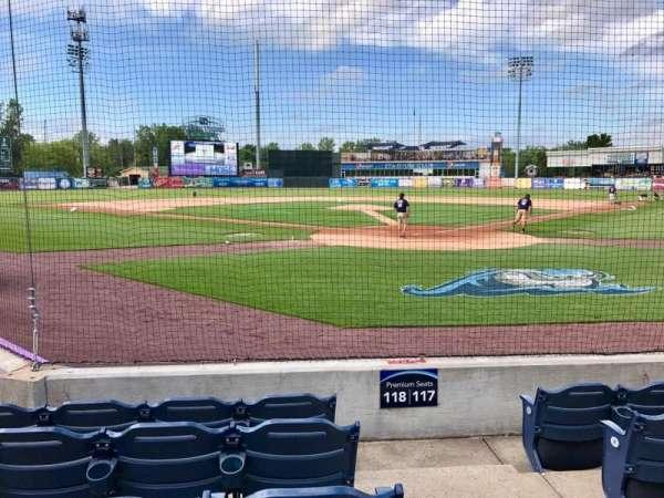 Fifth Third Ballpark, sección: 118, fila: 5, asiento: 1