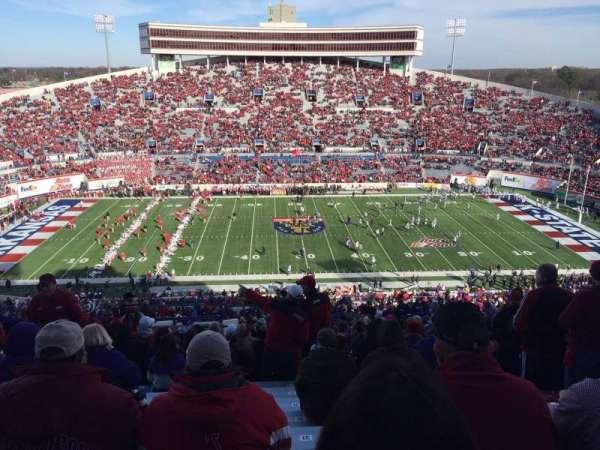 Liberty Bowl Memorial Stadium, sección: 104, fila: 89