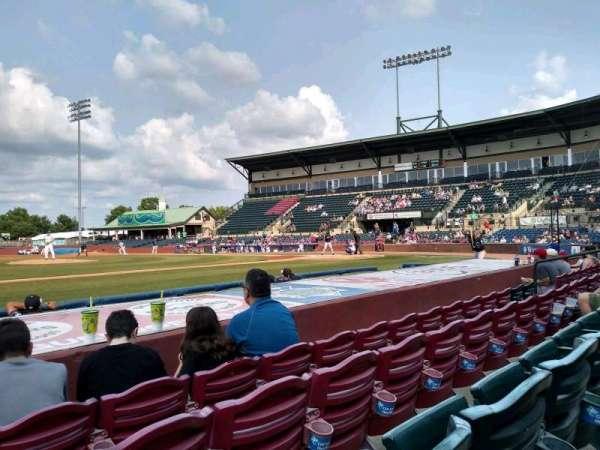 Whitaker Bank Ballpark, sección: 110, fila: 5, asiento: 15