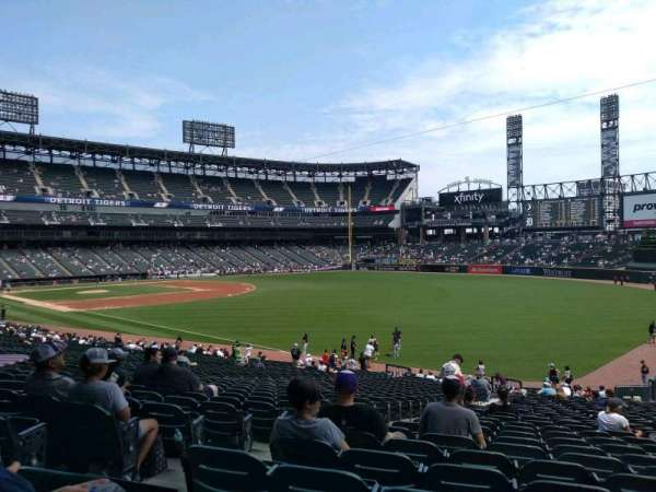 Guaranteed Rate Field, sección: 110, fila: 34, asiento: 22