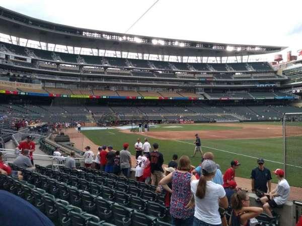 Target Field, sección: 103, fila: 8, asiento: 24