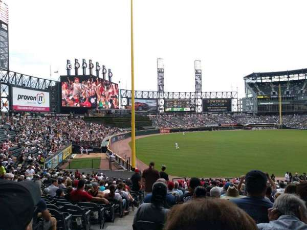 Guaranteed Rate Field, sección: 153, fila: 35, asiento: 10