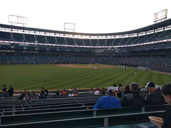Guaranteed Rate Field, sección: 161, fila: 20, asiento: 12