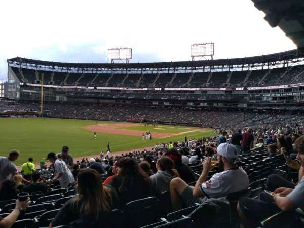 Guaranteed Rate Field, sección: 152, fila: 34, asiento: 8