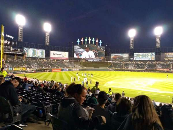 Guaranteed Rate Field, sección: 139, fila: 26, asiento: 7
