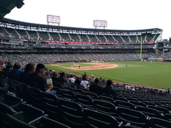 Guaranteed Rate Field, sección: 112, fila: 35, asiento: 1