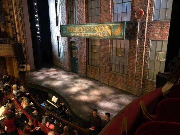 Al Hirschfeld Theatre, fila: RIGHT BOX, asiento: C9