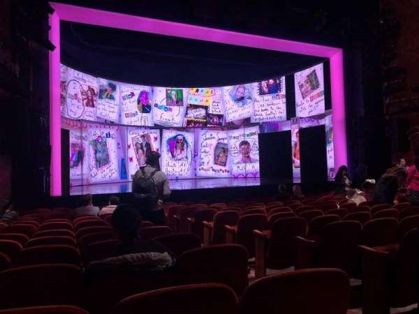 August Wilson Theatre, sección: Left Orchestra, fila: M, asiento: 7