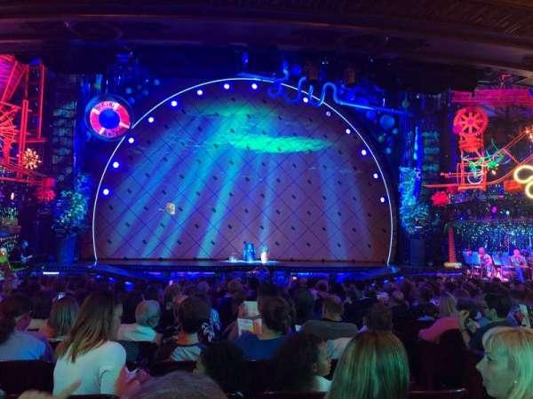 Palace Theatre (Broadway), sección: Orchestra, fila: R, asiento: 103