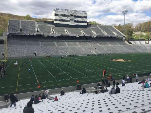 Michie Stadium, sección: 31, fila: CC, asiento: 7