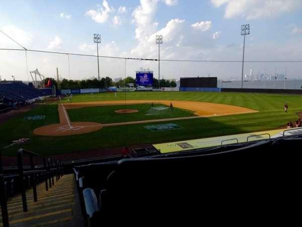 Richmond County Bank Ballpark, sección: 11, fila: V, asiento: 19