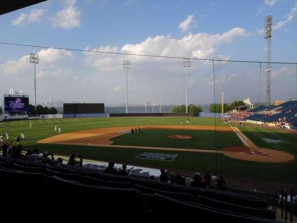 Richmond County Bank Ballpark, sección: 7, fila: V, asiento: 1