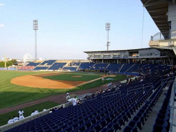 Richmond County Bank Ballpark, sección: 3, fila: 1C, asiento: 6