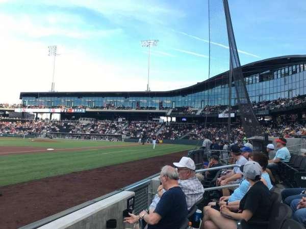 Las Vegas Ballpark, sección: DOB117, fila: B, asiento: 7