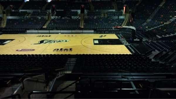 AT&T Center, sección: 120, fila: 22, asiento: 4
