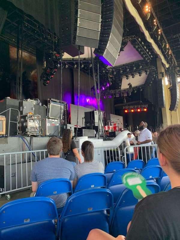 Coastal Credit Union Music Park at Walnut Creek, sección: 3, fila: I, asiento: 18