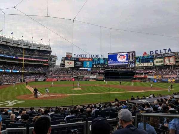 Yankee Stadium, sección: 118, fila: 4, asiento: 3