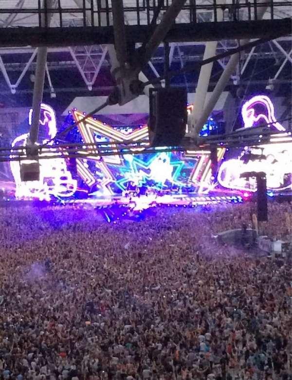 London Stadium, sección: 253, fila: 71, asiento: 787