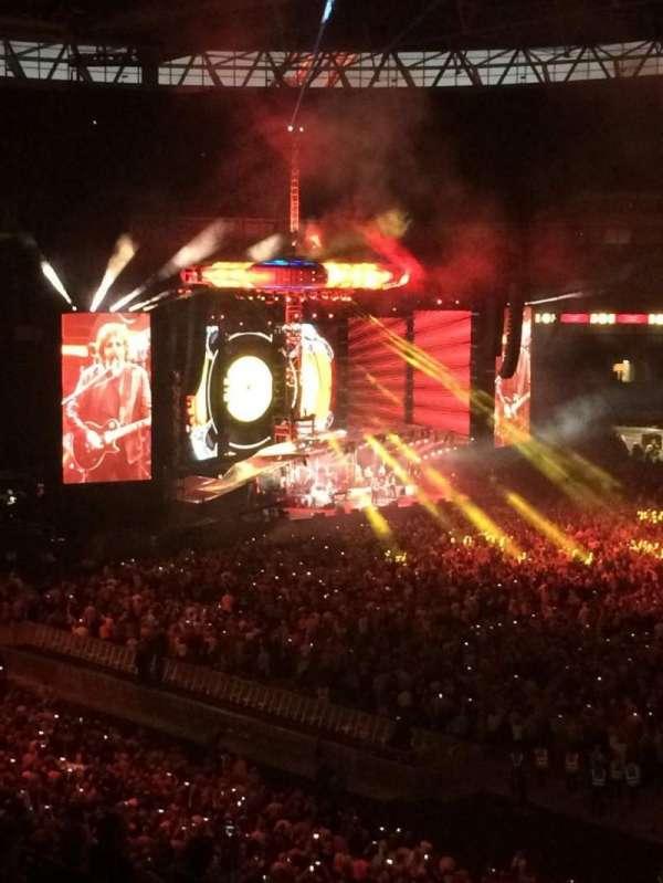 Wembley Stadium, sección: 225, fila: 10, asiento: 256