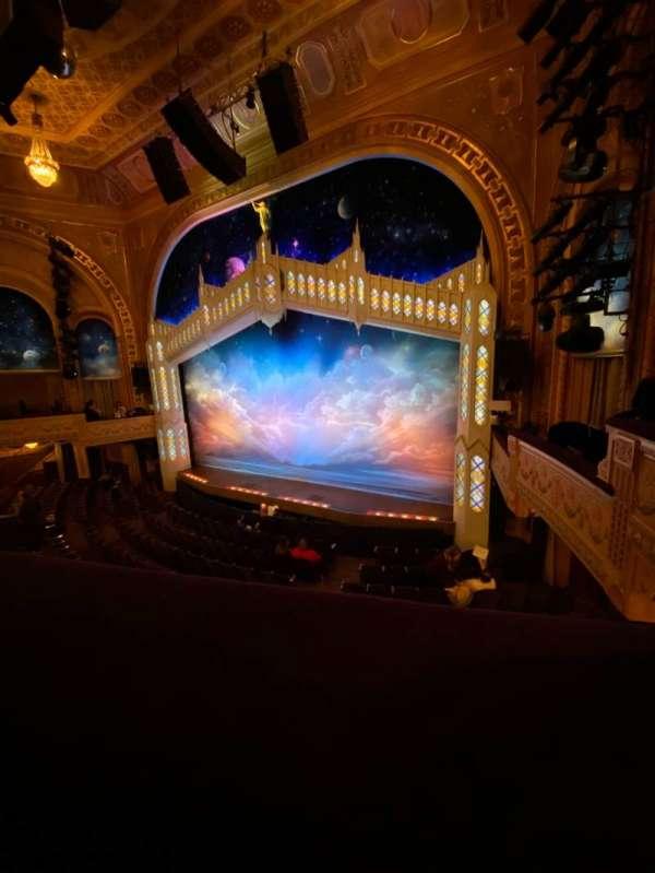 Eugene O'Neill Theatre, sección: Mezzanine R, fila: A, asiento: 16