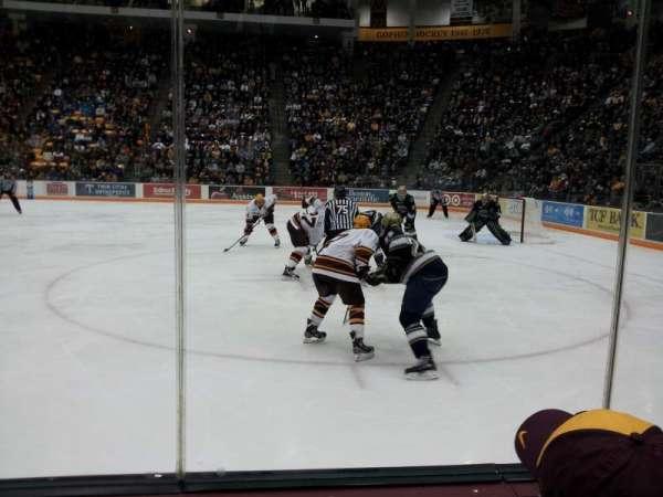 3M Arena at Mariucci, sección: 5, fila: 2, asiento: 1