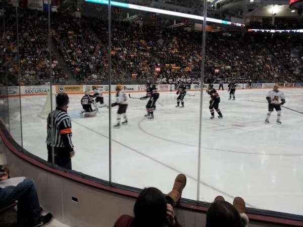 3M Arena at Mariucci, sección: 23, fila: 3, asiento: 5